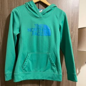 Green and Blue North Face size small